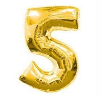 Ballon 5 or 38 cm