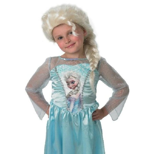 Perruque reine des neiges - Photo n°1