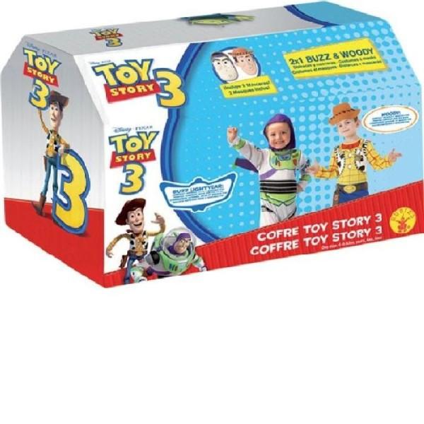 Coffret cadeau déguisement toy story-5/7 ans - Photo n°2