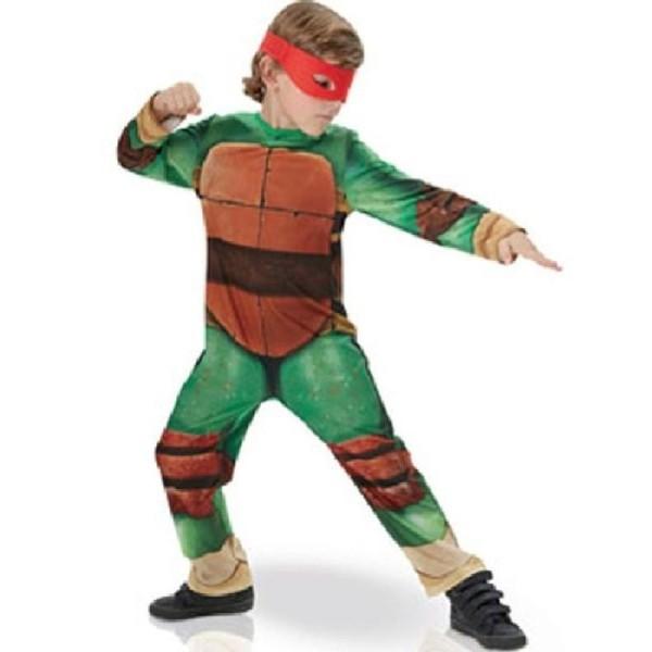 Déguisement Luxe Rembourré tortue Ninja (7/8 ans) - Photo n°1