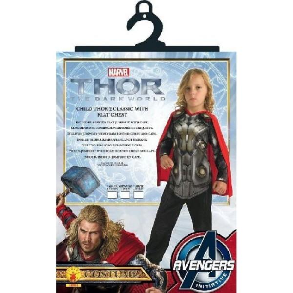Déguisement Classique Thor 2 (5/6 ans) - Photo n°2