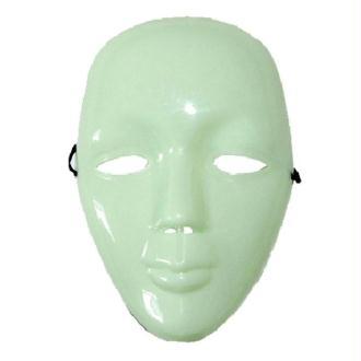 Masque rigide phosphorescent