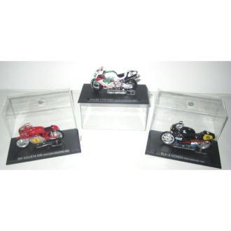 3 coffrets 12 cm moto collector 6 - Agusta-Honda-Elf Honda
