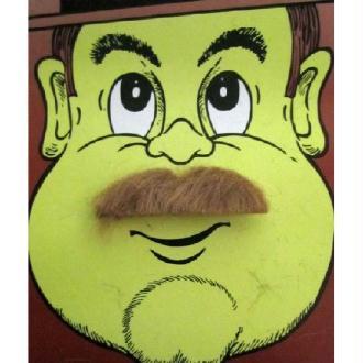 Moustache smart marron