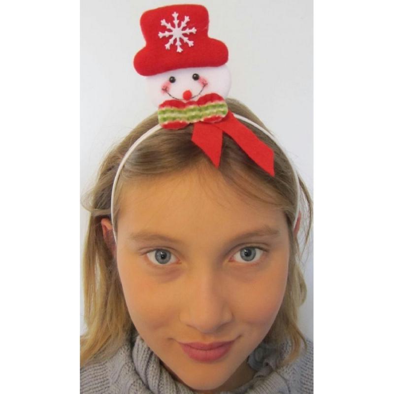Serre t te bonhomme de neige chapeaux enfant creavea - Chapeau bonhomme de neige ...