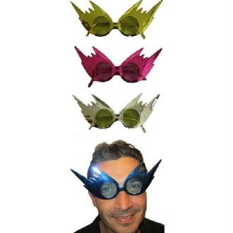 Lunettes flash assorties - (1 paire)