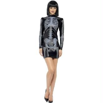 Robe Squelette 3D - Taille M