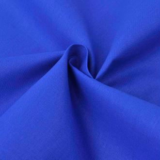 vidaXL Tissu en coton 1,45x20 m Bleu