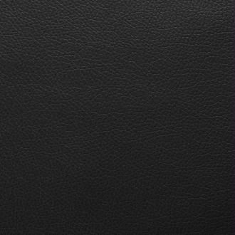 vidaXL Tissu en cuir artificiel 1,4 x 18 m Noir