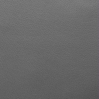 vidaXL Tissu en cuir artificiel 1,4 x 36 m Noir