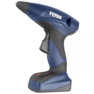 FERM Pistolet à colle sans fil 7,2 V 1,5 A Li-ion GGM1003