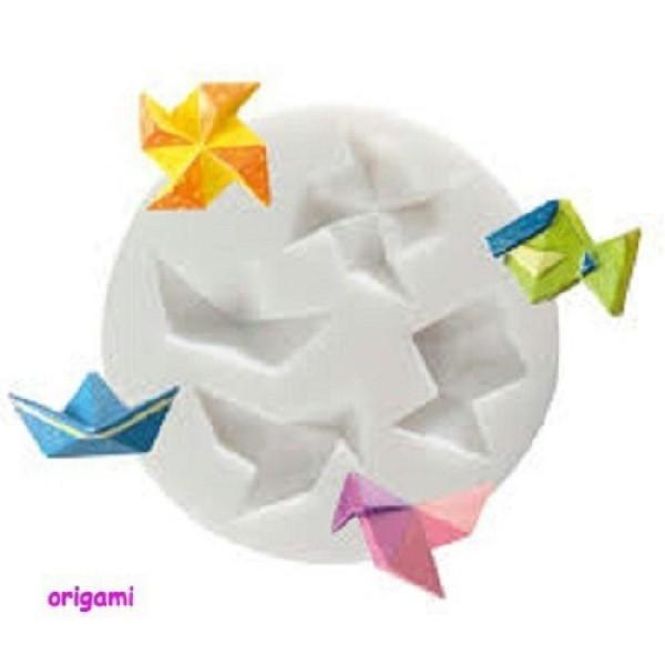 Un Moule En Silicone Thème Origami 70mm - Photo n°1