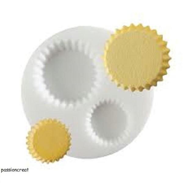 Un Moule En Silicone Thème Cupcake 72mm - Photo n°1