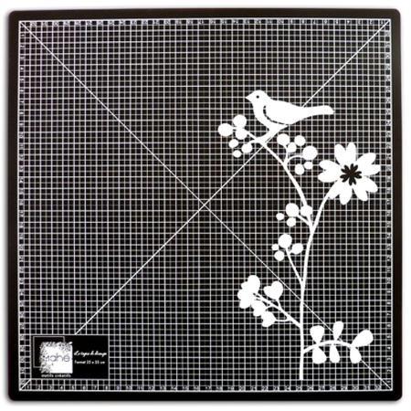 tapis de d 233 coupe auto cicatrisant 35 x 35 cm noir tapis scrapbooking creavea