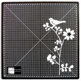 Tapis de découpe auto cicatrisant 35 x 35 cm noir