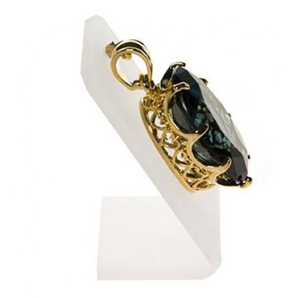 Porte bijoux présentoir pour pendentif 1 crochet Translucide - Photo n°2