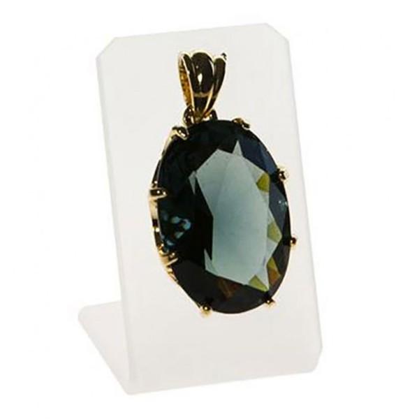 Porte bijoux présentoir pour pendentif 1 crochet Translucide - Photo n°1