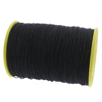 Fil nylon élastique 0.5 mm X 10 m Noir
