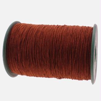 Fil nylon élastique 0.5 mm X 10 m Marron
