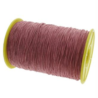Fil nylon élastique 0.5 mm X 10 m Vieux Rose