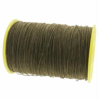 Fil nylon élastique 0.5 mm X 10 m Taupe foncé