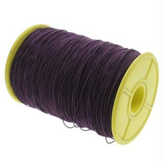 Fil nylon élastique 0.5 mm X 10 m Violet