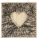 Kit tableau string art - Neutre - 22 x 22 cm - Photo n°2