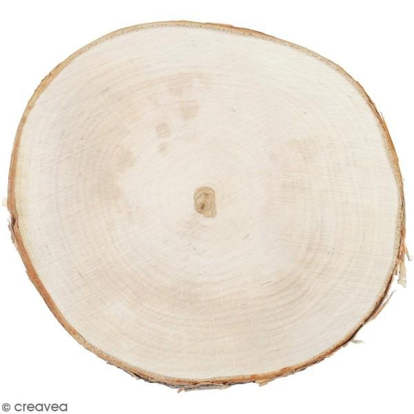 Rondelles de bois - 20 cm - 1 pce - Photo n°1