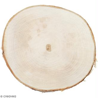 Rondelles de bois - 20 cm - 1 pce