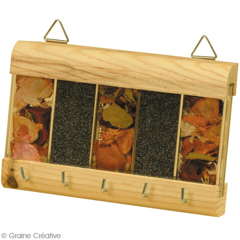 porte bougie carr en bois miroir etoile bougeoir d corer creavea. Black Bedroom Furniture Sets. Home Design Ideas