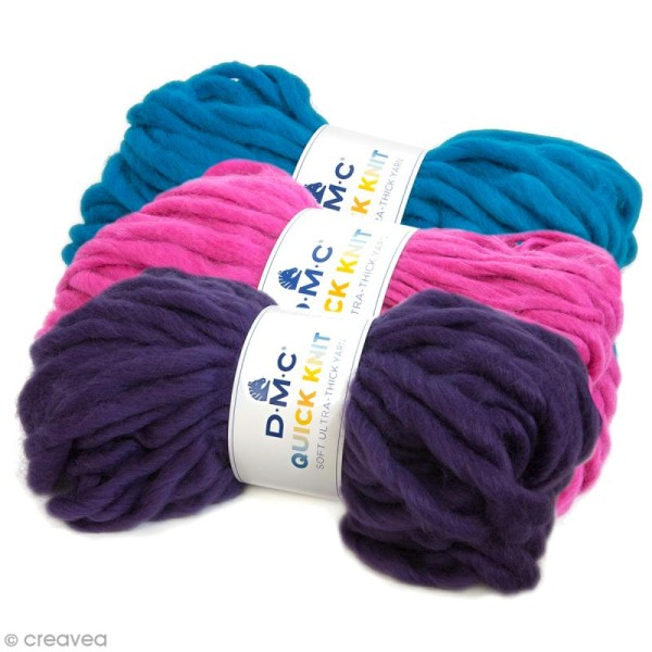 Laine Quick Knit DMC - 150 g - Photo n°1