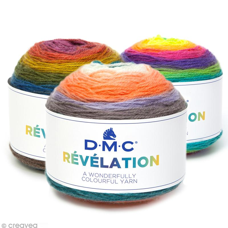 Laine Révélation Multicolore DMC - 150 g - Photo n°1