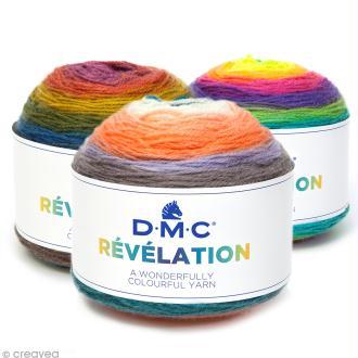 Laine Révélation Multicolore DMC - 150 g
