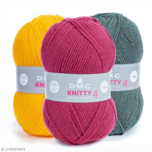 Laine Knitty 4 DMC - 100 g - Photo n°1