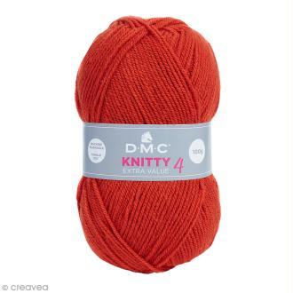 Laine Knitty 4 DMC - Rouille 700 - 100 g