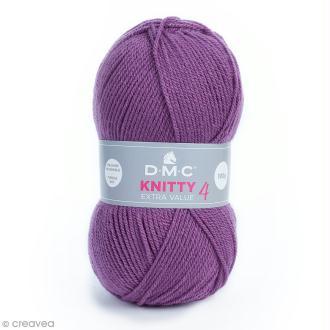 Laine Knitty 4 DMC - Lilas 701 - 100 g