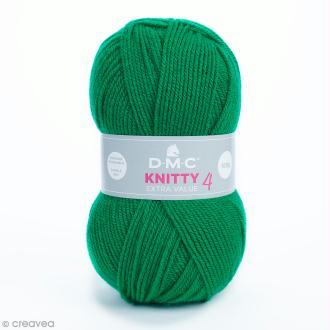 Laine Knitty 4 DMC - Vert 916 - 100 g