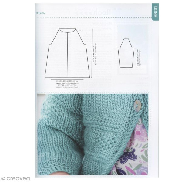 Catalogue tricot DMC - Baby knitting Collection - 24 modèles Enfants - Photo n°4