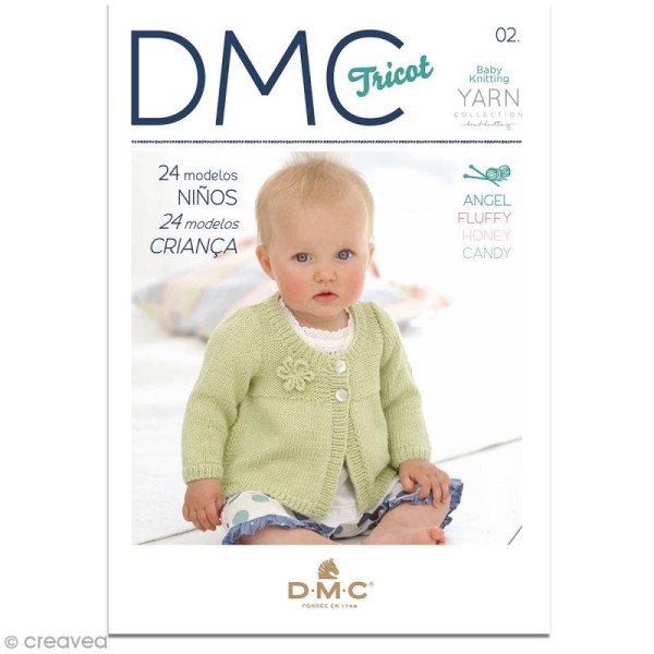 Catalogue tricot DMC - Baby knitting Collection - 24 modèles Enfants - Photo n°1
