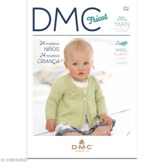 Catalogue tricot DMC - Baby knitting Collection - 24 modèles Enfants