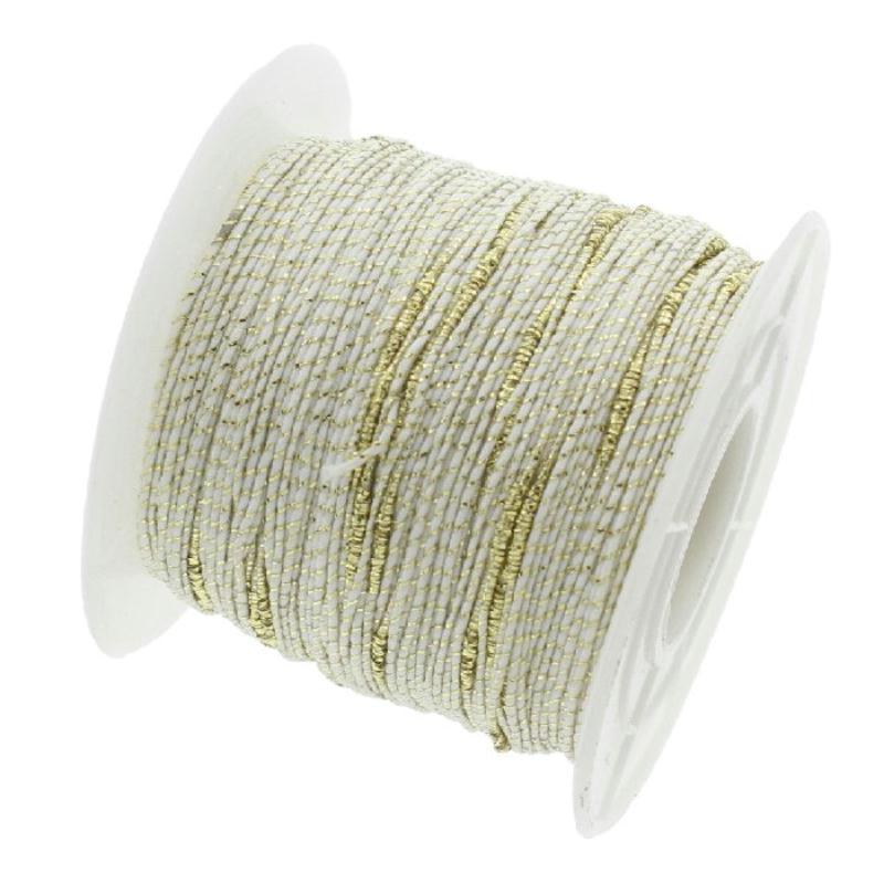 Fil nylon tress blanc fil dor 1 millim tre sur mesure for Acheter miroir sur mesure