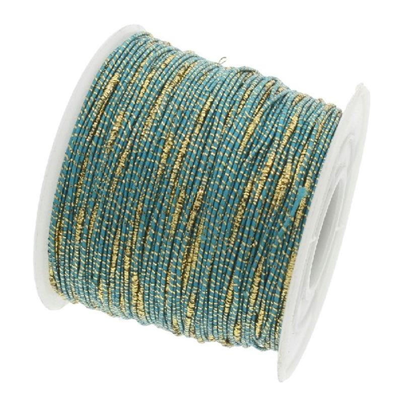 Fil nylon tress bleu fil dor 1 millim tre sur mesure for Acheter miroir sur mesure