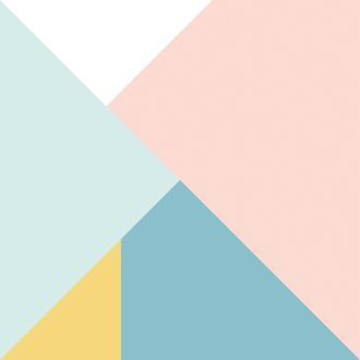 Papier Scrapbooking Géométrique 30.5 x 30.5 cm - Papier Triangles - Papier Scandinave - 11001981