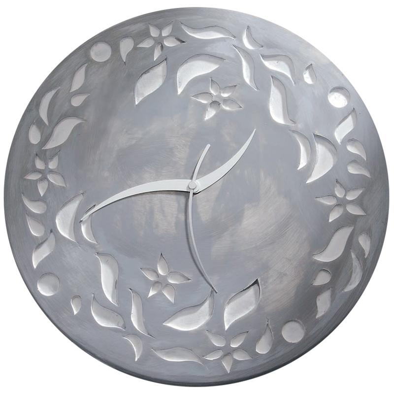 Horloge en bois à décorer ronde 30 cm - Photo n°2