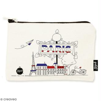 Pochette Paris - Taille S - Collection Cocorico - 22 x 12 cm