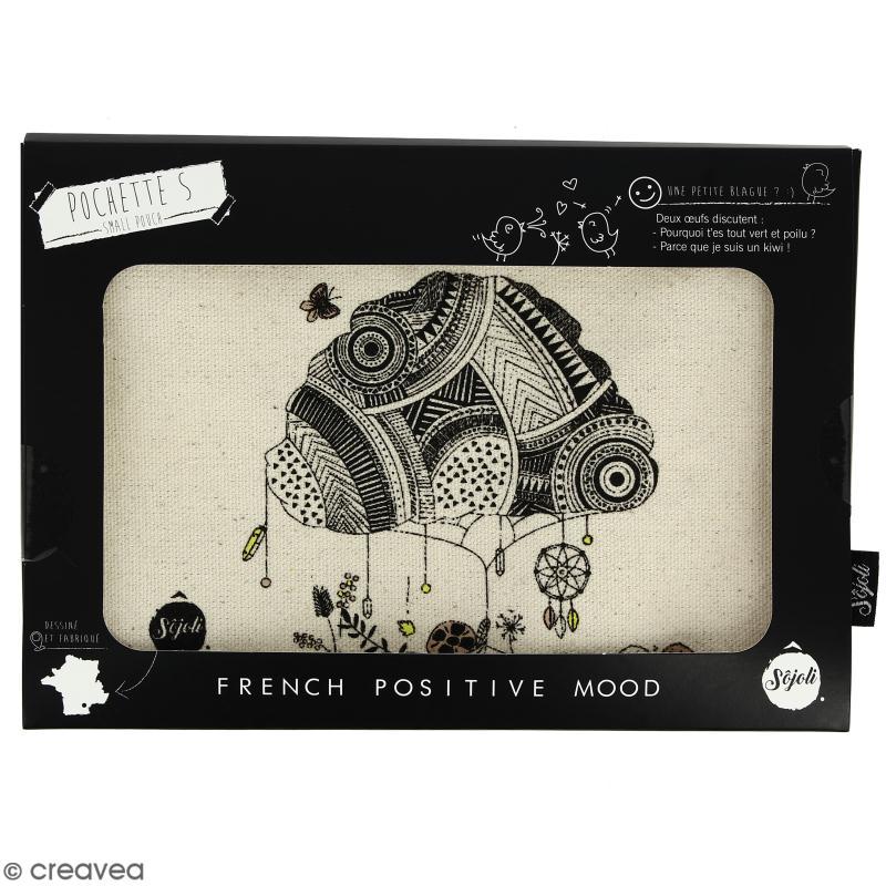Pochette Arbre Champêtre - Taille S - Collection Champêtre - 22 x 12 cm - Photo n°2