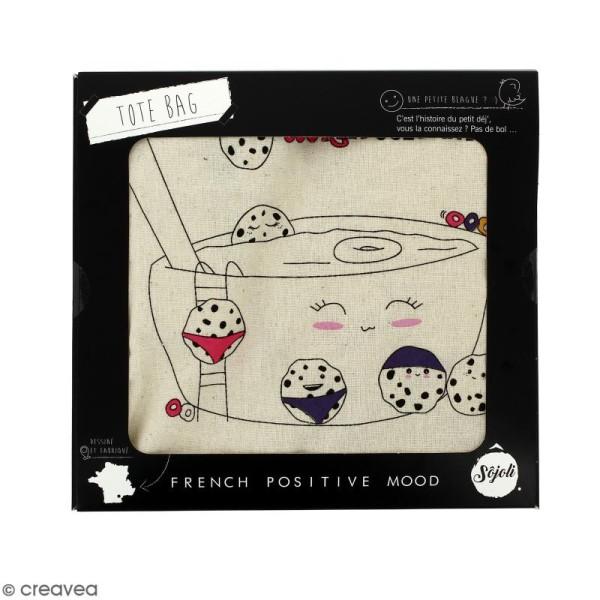 Tote bag Cookie Pool - Collection Kawaii - 36 x 42 cm - Photo n°2