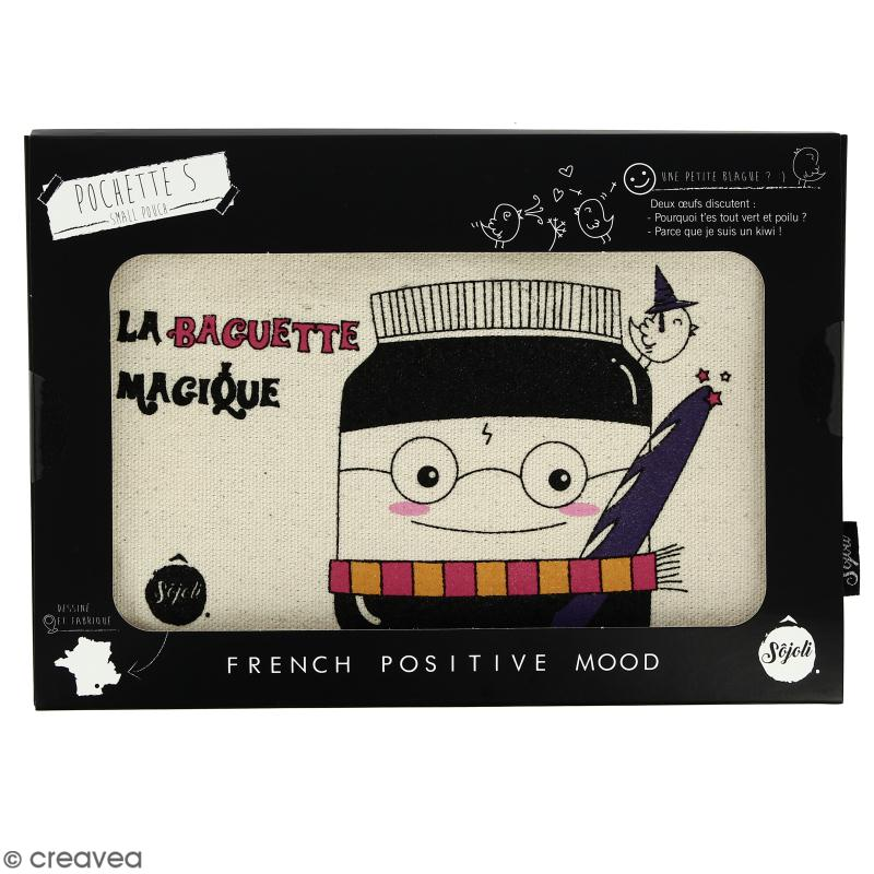 Pochette Baguette Magique - Taille S - Collection Kawaii - 22 x 12 cm - Photo n°2