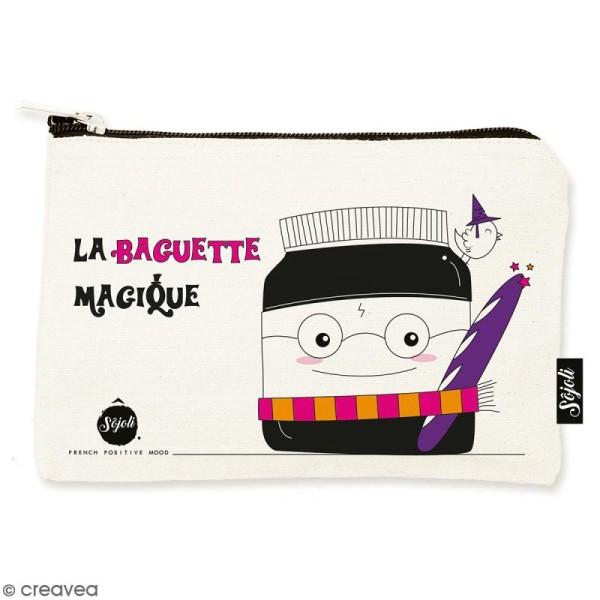Pochette Baguette Magique - Taille S - Collection Kawaii - 22 x 12 cm - Photo n°1