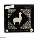Tote bag Motif Aztèque - Collection Lama - 36 x 42 cm - Photo n°2